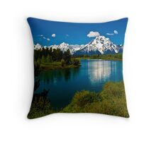 ~ The Magestic Tetons ~ Throw Pillow