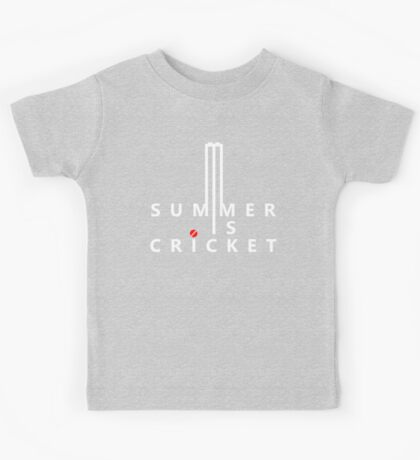 Summer is Cricket Kids Tee