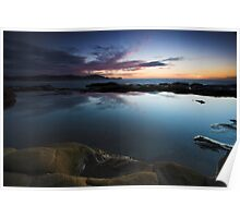 Avoca Sunrise Reflections Poster
