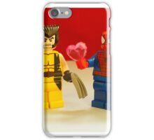 Spider-Man Loves Wolverine iPhone Case/Skin