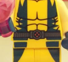 Wolverine Valentines Sticker