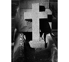 Grave Photographic Print