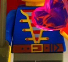Lego Pirate Valentines Sticker