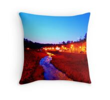 Main St Throw Pillow