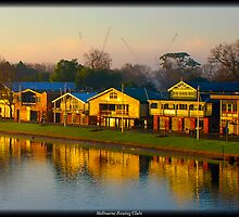 Melbourne Rowing Clubs by Andrew Wilson