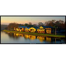 Melbourne Rowing Clubs Photographic Print