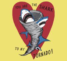 Shark To My Tornado Kids Tee