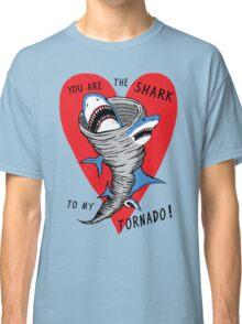 Shark To My Tornado Classic T-Shirt