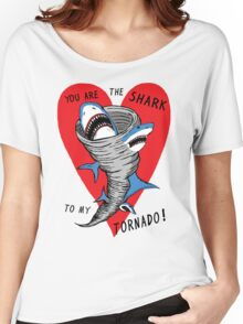 Shark To My Tornado Women's Relaxed Fit T-Shirt