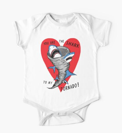 Shark To My Tornado One Piece - Short Sleeve