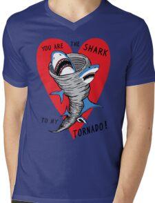 Shark To My Tornado Mens V-Neck T-Shirt