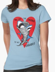 Shark To My Tornado Womens Fitted T-Shirt