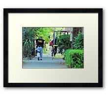 FBI Neighbourhood Raid 1 Framed Print