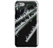 Haw frost iPhone Case/Skin