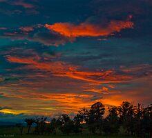 Dawn over Drouin by FuriousEnnui