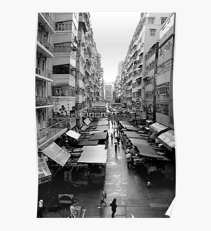 Hong Kong Market Poster