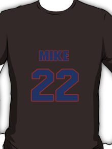National Hockey player Mike Wong jersey 22 T-Shirt