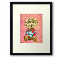 The Smart One Framed Print