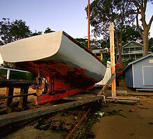 Great Boat - Needs Work - Clareville - Sydney Beaches - The HDR Serries by Philip Johnson