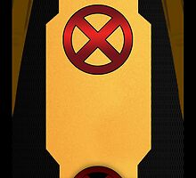 X-Men Deadpool Suit (Logo) by LumpyHippo