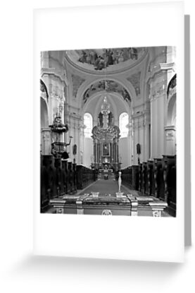 Virgin Mary Visitation Church, Hejnice, Czech Republic by Lenka