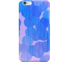 Lavender and Blue Stained Bubbles iPhone Case/Skin