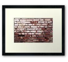 Broken Wall 1 Framed Print