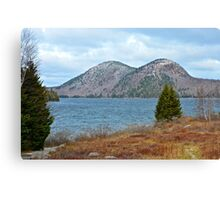 The Bubbles and Jordan Pond, Acadia National Park, Maine Canvas Print