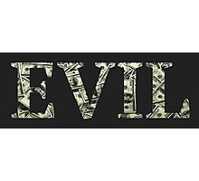 Evil Photographic Print