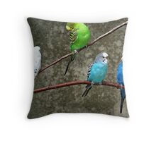 Eavesdroppers Throw Pillow