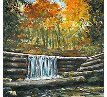 Iargo Springs in Fall by Robin (Rob) Pelton
