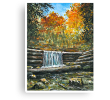 Iargo Springs in Fall Canvas Print