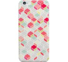 CUBE PINK iPhone Case/Skin