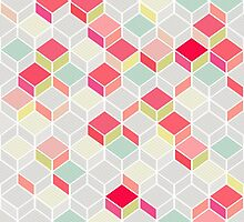 CUBE PINK by kindofstyle