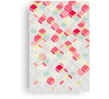 CUBE PINK Canvas Print