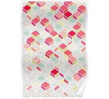CUBE PINK Poster