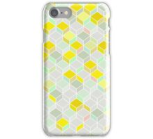 CUBE YELLOW iPhone Case/Skin
