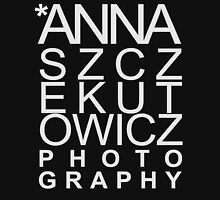 Anna Szczekutowicz Photography [white] Womens Fitted T-Shirt