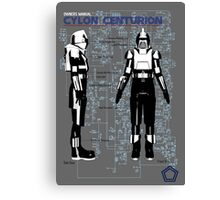 Owners Manual Cylon Centurion Canvas Print
