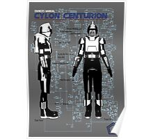 Owners Manual Cylon Centurion Poster