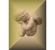 Weeping Cherub ~ Angel Photographic Print