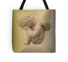 Weeping Cherub ~ Angel Tote Bag
