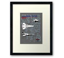 Owners Manual - Colonial Viper MKII Framed Print