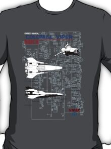 Owners Manual - Colonial Viper MKII T-Shirt