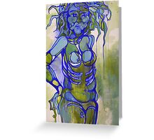 The Radiation Blues Greeting Card