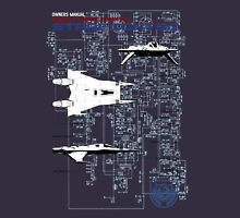 Owners Manual - Earth Directorate Starfighter Unisex T-Shirt