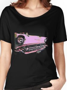 Candy Pink Chevrolet Women's Relaxed Fit T-Shirt