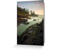 Pacific Rim National Park, Tofino, British Columbia Greeting Card