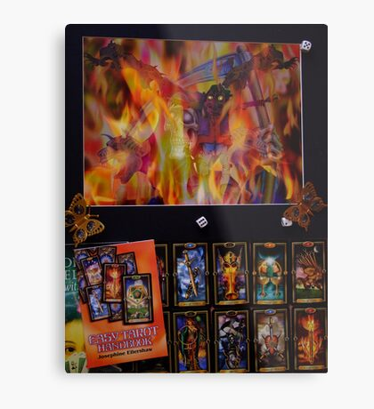 Tarot time Metal Print