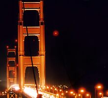 Golden Gate Night by DJ Florek
